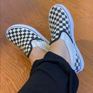 Vans Checkerboard Sneakers Size 3